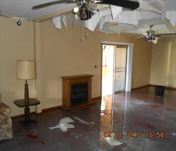 Vacation Home Water Damage Prescott, AZ  Before