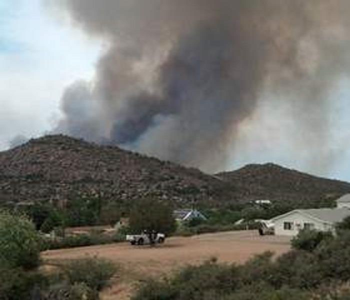 Fire Damage Fire Ban for Yavapai County